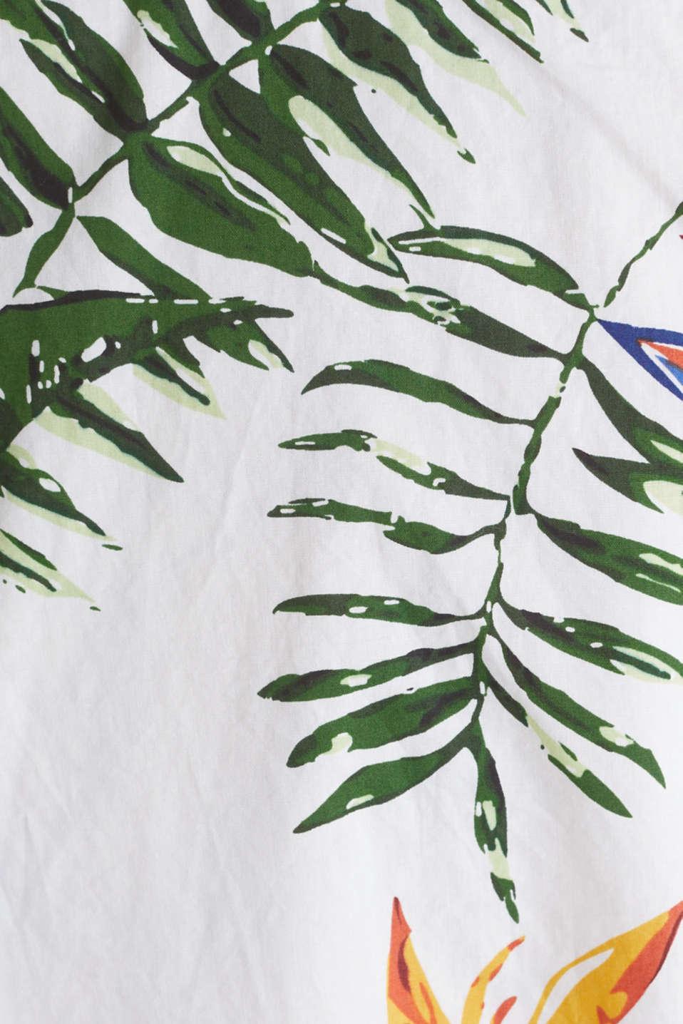 Print shirt, 100% organic cotton, WHITE 4, detail image number 4