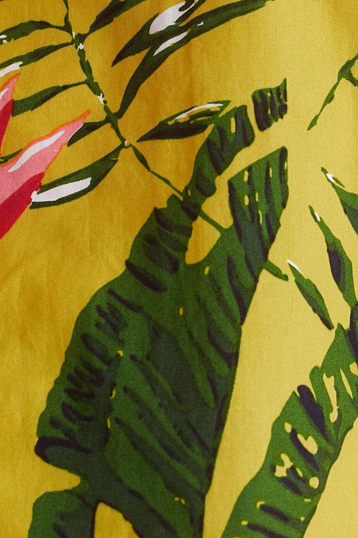 Print-Hemd, 100% Bio-Baumwolle, LIGHT YELLOW, detail image number 4