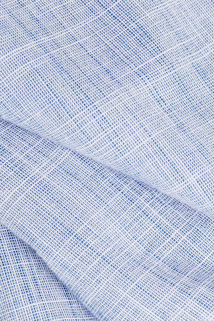 Short-sleeved shirt, 100% organic cotton, BLUE, detail image number 4