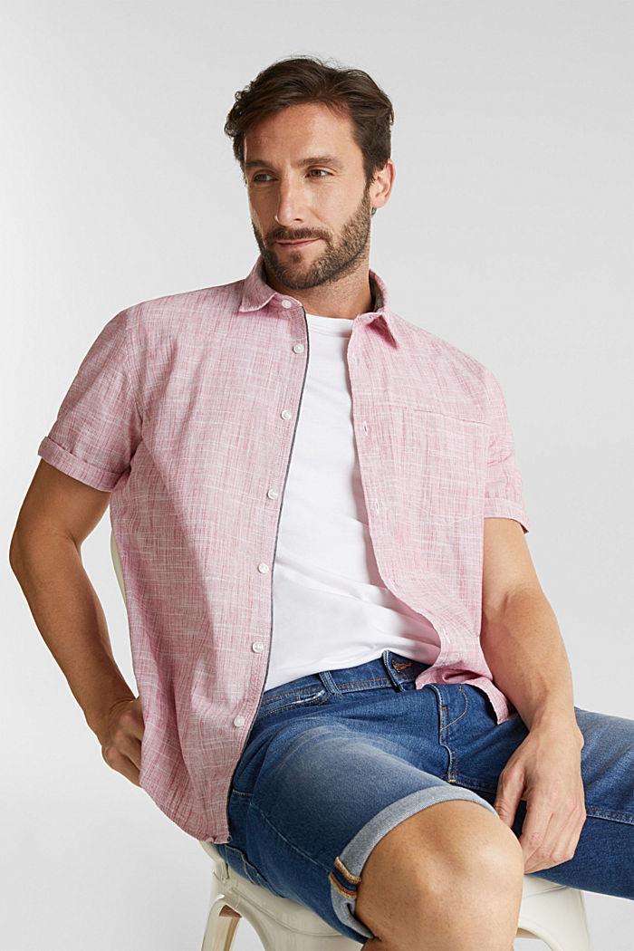 Short-sleeved shirt, 100% organic cotton