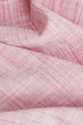 Short-sleeved shirt, 100% organic cotton, RED, detail
