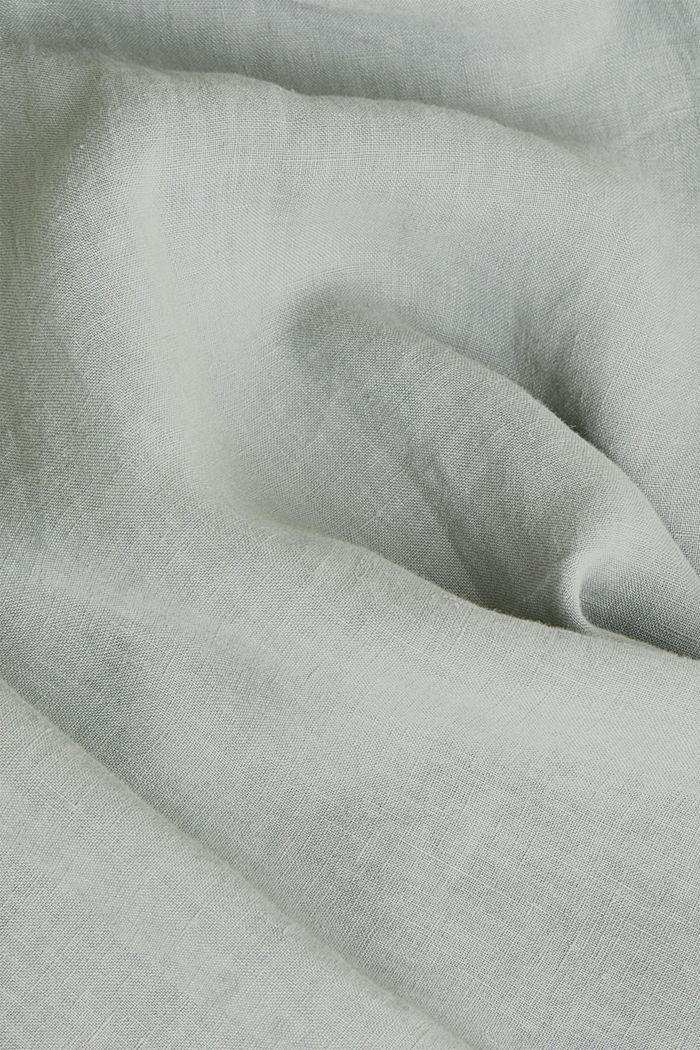 EarthColors®: Hemd aus 100% Leinen, LIGHT KHAKI, detail image number 4