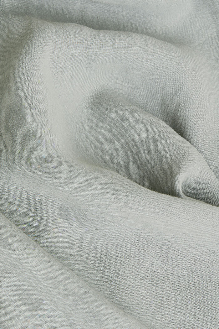 EarthColors®: Shirt made of 100% linen, LIGHT KHAKI, detail image number 4