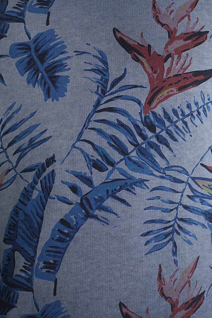 Shirt with print, 100% organic cotton, NAVY, detail image number 5