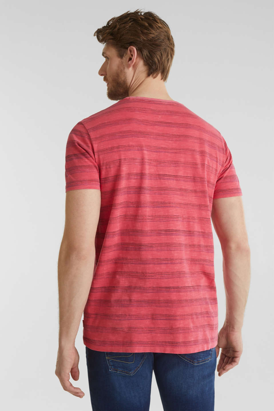 Jersey top, 100% organic cotton, CORAL RED 3, detail image number 3