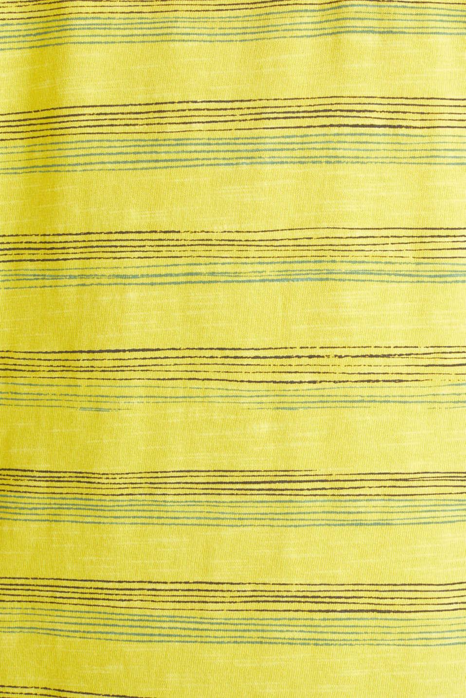 Jersey top, 100% organic cotton, YELLOW 3, detail image number 3
