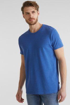 Melange piqué T-shirt, BLUE 5, detail