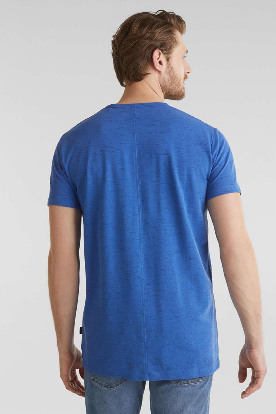 Melange piqué T-shirt, BLUE 5, detail image number 2