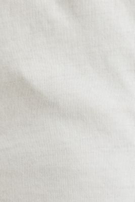 Jersey cotton top, OFF WHITE, detail