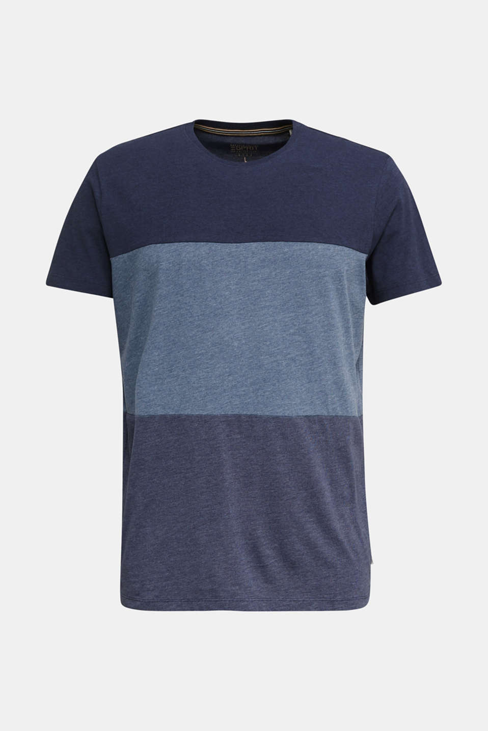 Jersey top in a colour block style, NAVY 3, detail image number 5