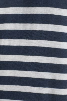 Jersey top made of 100% organic cotton, NAVY 3, detail