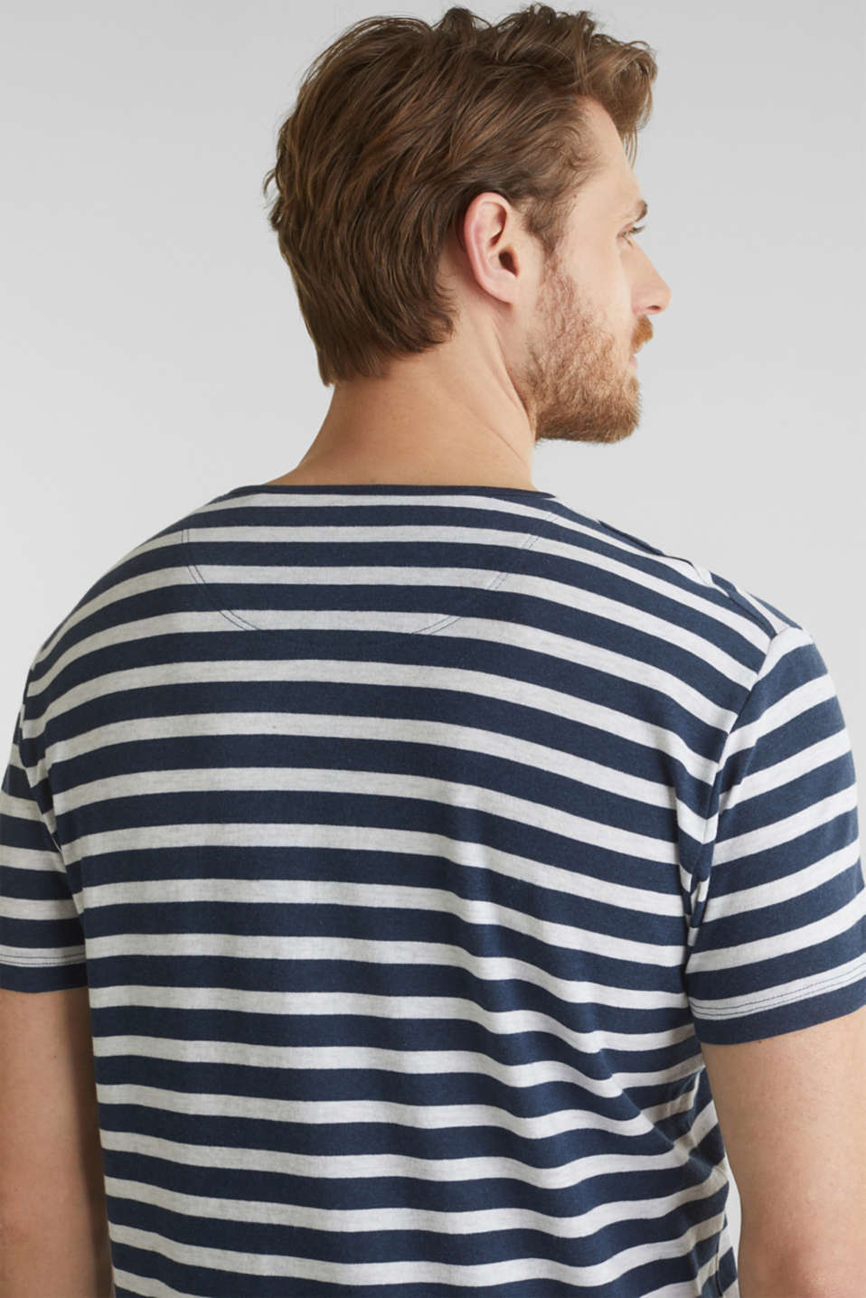 Jersey top made of 100% organic cotton, NAVY 3, detail image number 5