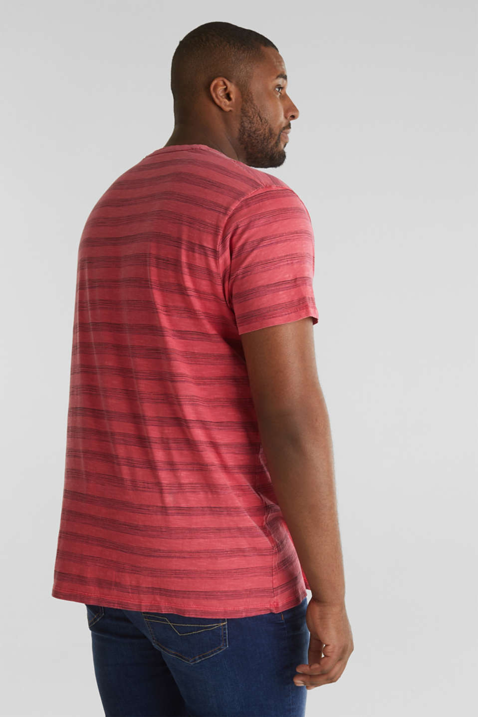 Fashion T-Shirt, CORAL RED 3, detail image number 3