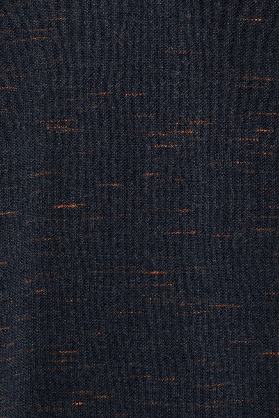 Piqué top made of organic cotton, NAVY 5, detail image number 4