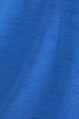 Piqué top made of organic cotton, BLUE 5, detail