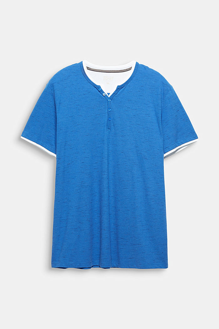 Piqué-Shirt mit Organic Cotton