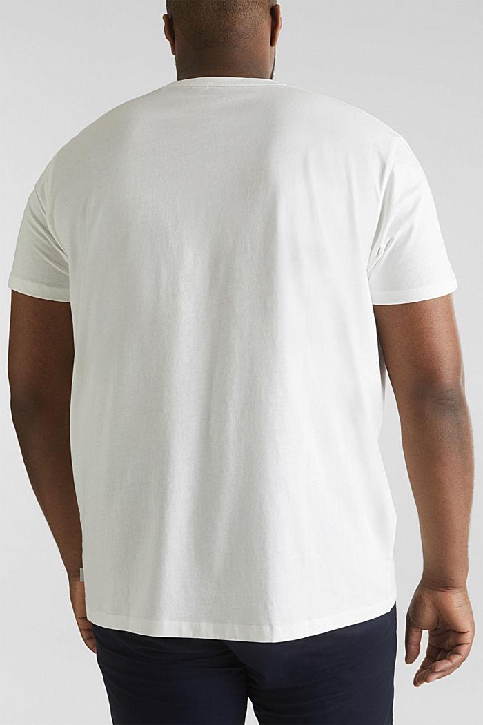 Print-Shirt aus 100% Organic Cotton, OFF WHITE, detail image number 2
