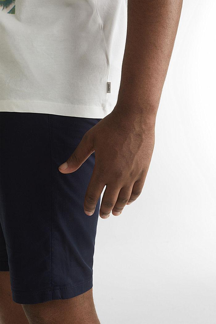 Print-Shirt aus 100% Organic Cotton, OFF WHITE, detail image number 5