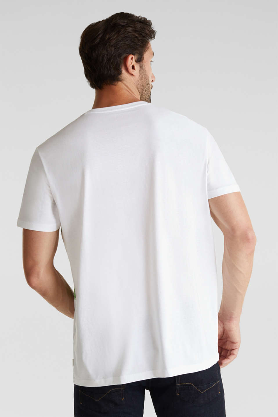 Jersey T-shirt, 100% organic cotton, LIGHT GREEN 3, detail image number 3