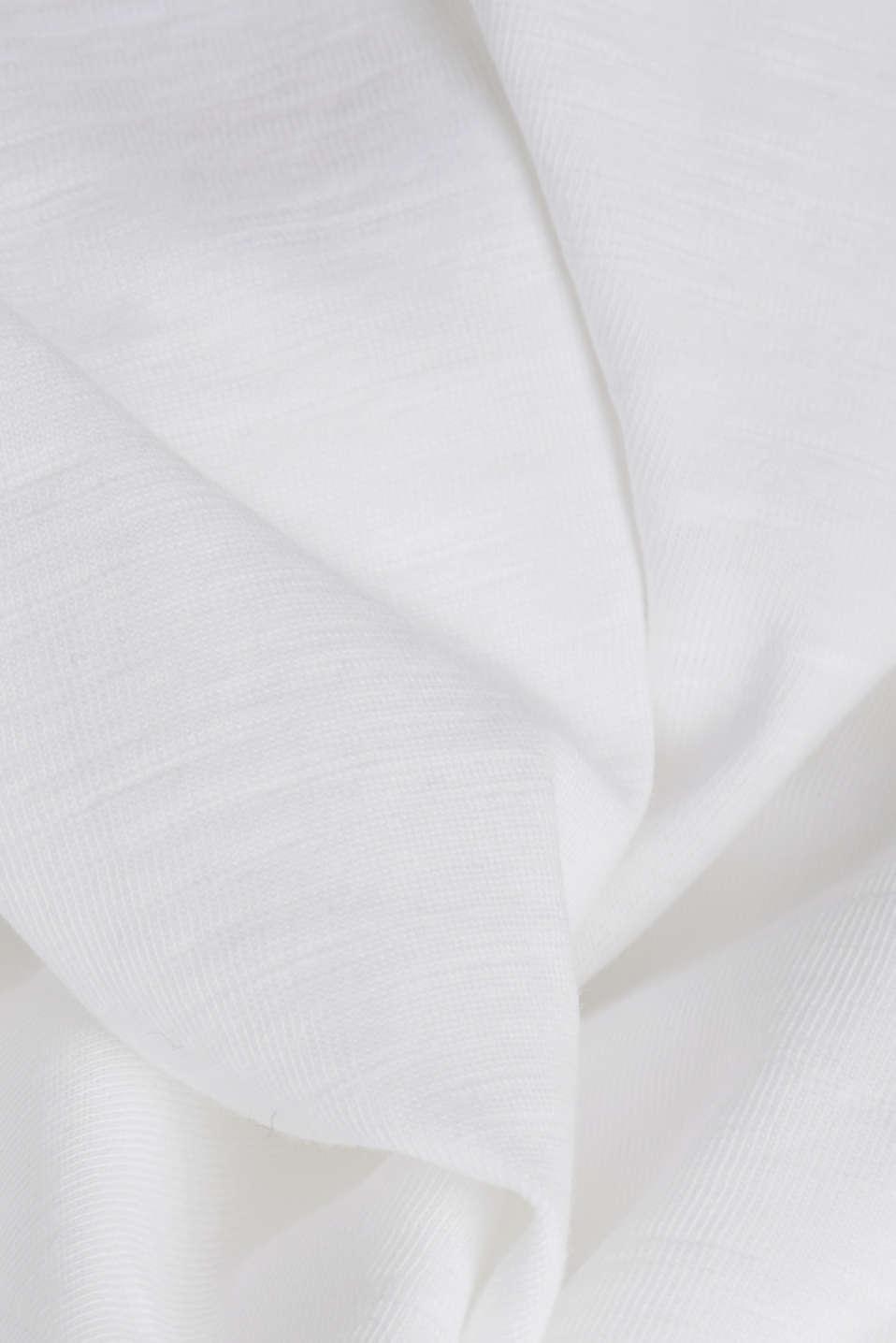Jersey top, 100% organic cotton, WHITE, detail image number 4