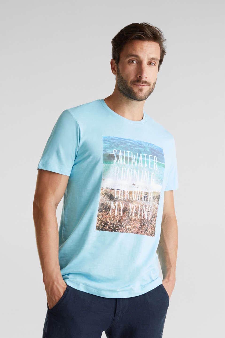 Jersey top, 100% organic cotton, LIGHT BLUE, detail image number 0