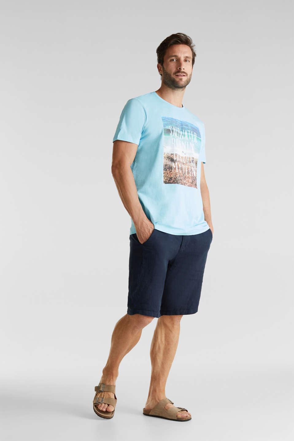 Jersey top, 100% organic cotton, LIGHT BLUE, detail image number 2