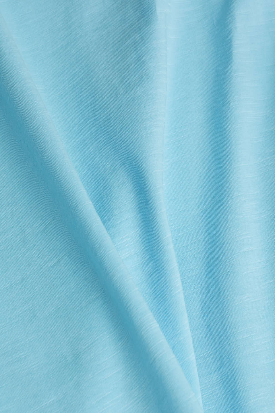 Jersey top made of 100% organic cotton, LIGHT BLUE, detail image number 4