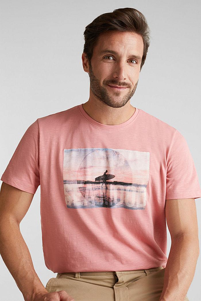 Jersey-Shirt aus 100% Organic Cotton, BLUSH, detail image number 0