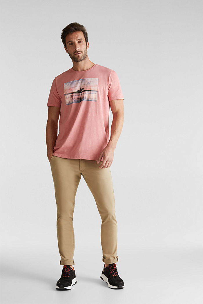 Jersey-Shirt aus 100% Organic Cotton, BLUSH, detail image number 2