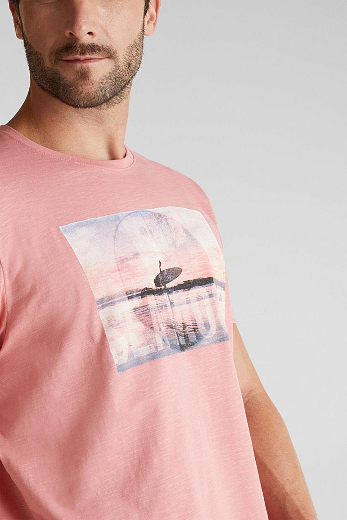 Jersey-Shirt aus 100% Organic Cotton, BLUSH, detail image number 1