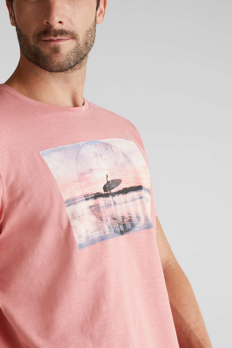 Jersey top made of 100% organic cotton, BLUSH, detail image number 1