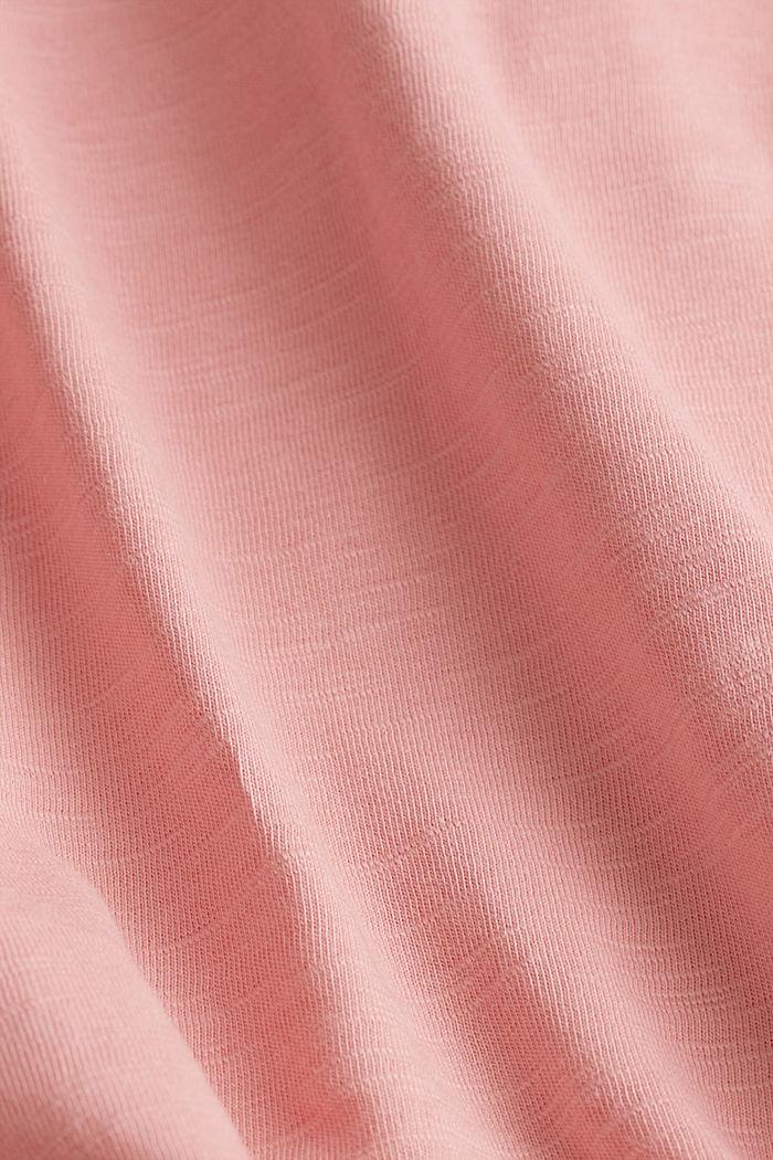 Jersey-Shirt aus 100% Organic Cotton, BLUSH, detail image number 4