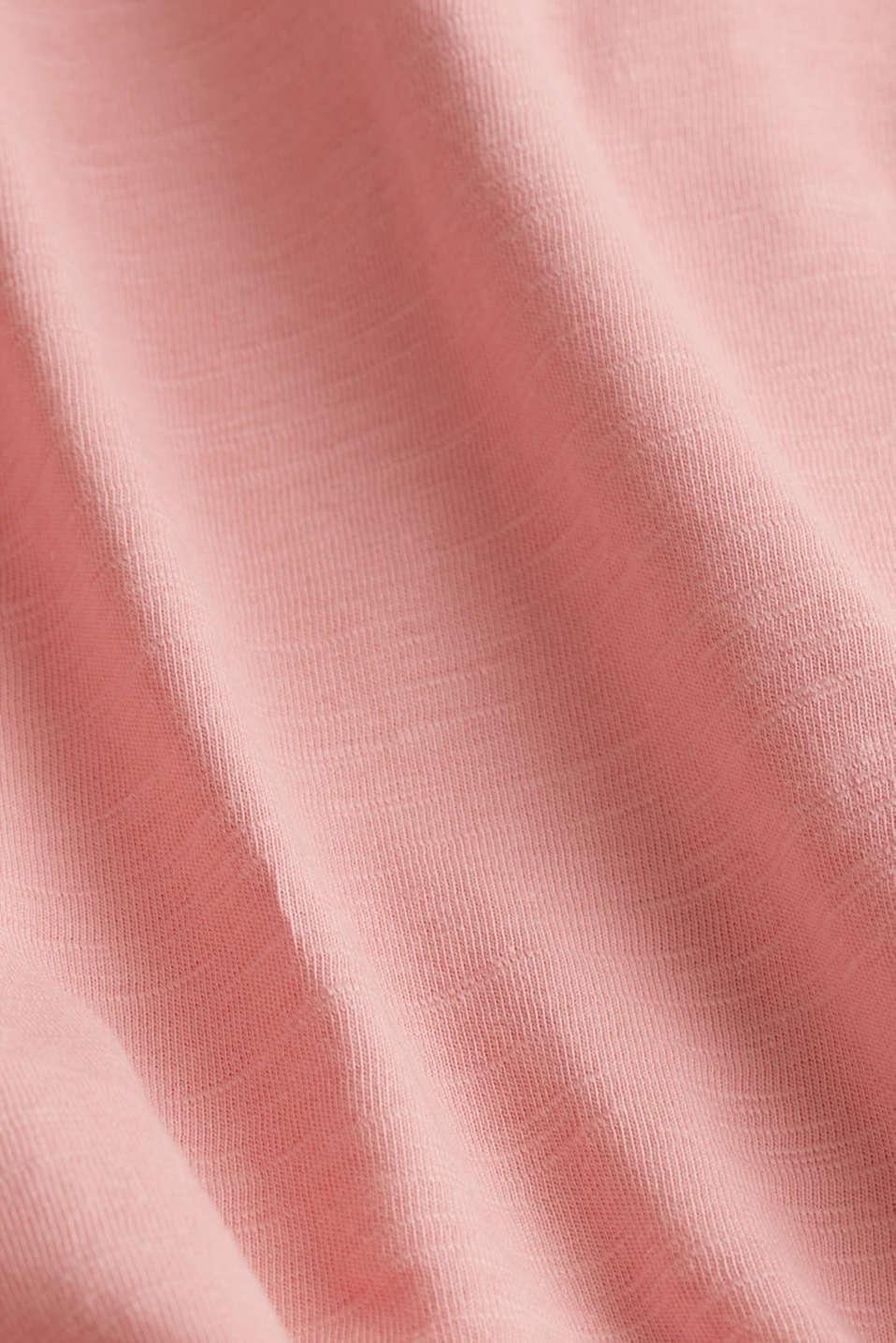 Jersey top made of 100% organic cotton, BLUSH, detail image number 4