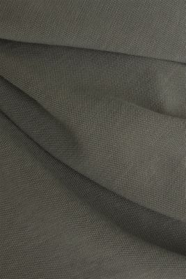 EarthColors®: piqué polo shirt, DARK KHAKI 2, detail