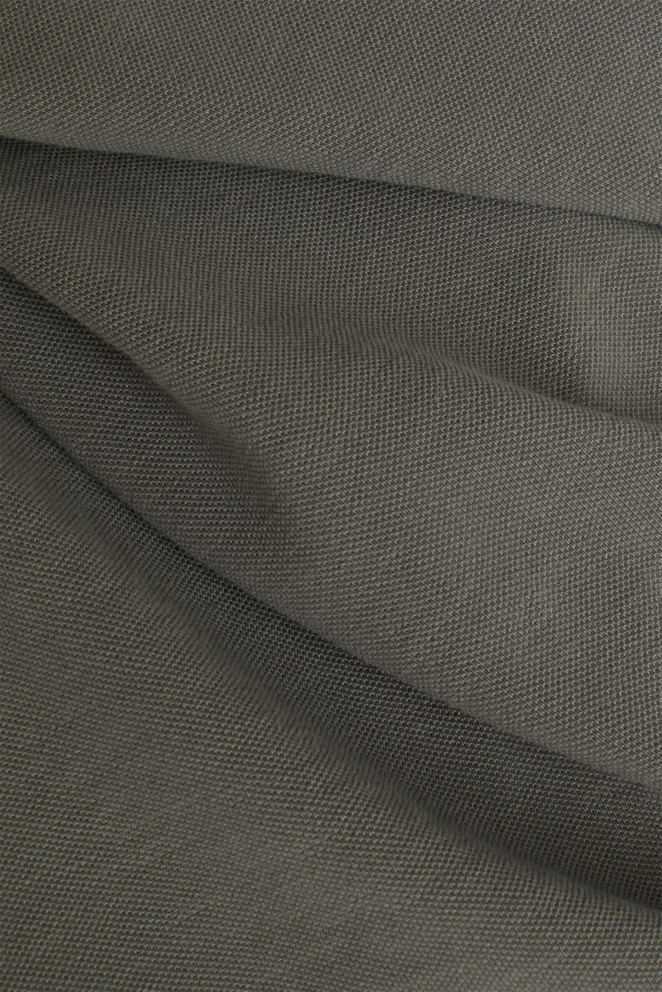 EarthColors®: piqué polo shirt, DARK KHAKI 2, detail image number 3