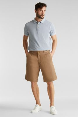 EarthColors®: piqué polo shirt, PASTEL BLUE 2, detail
