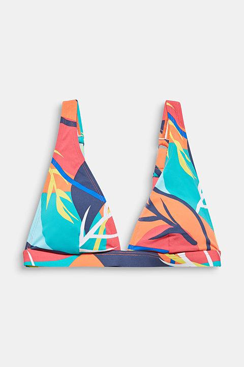 Non-wired bikini top