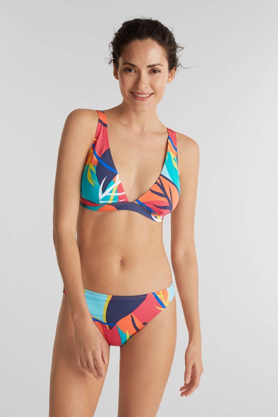 Esprit - Briefs with a tropical print