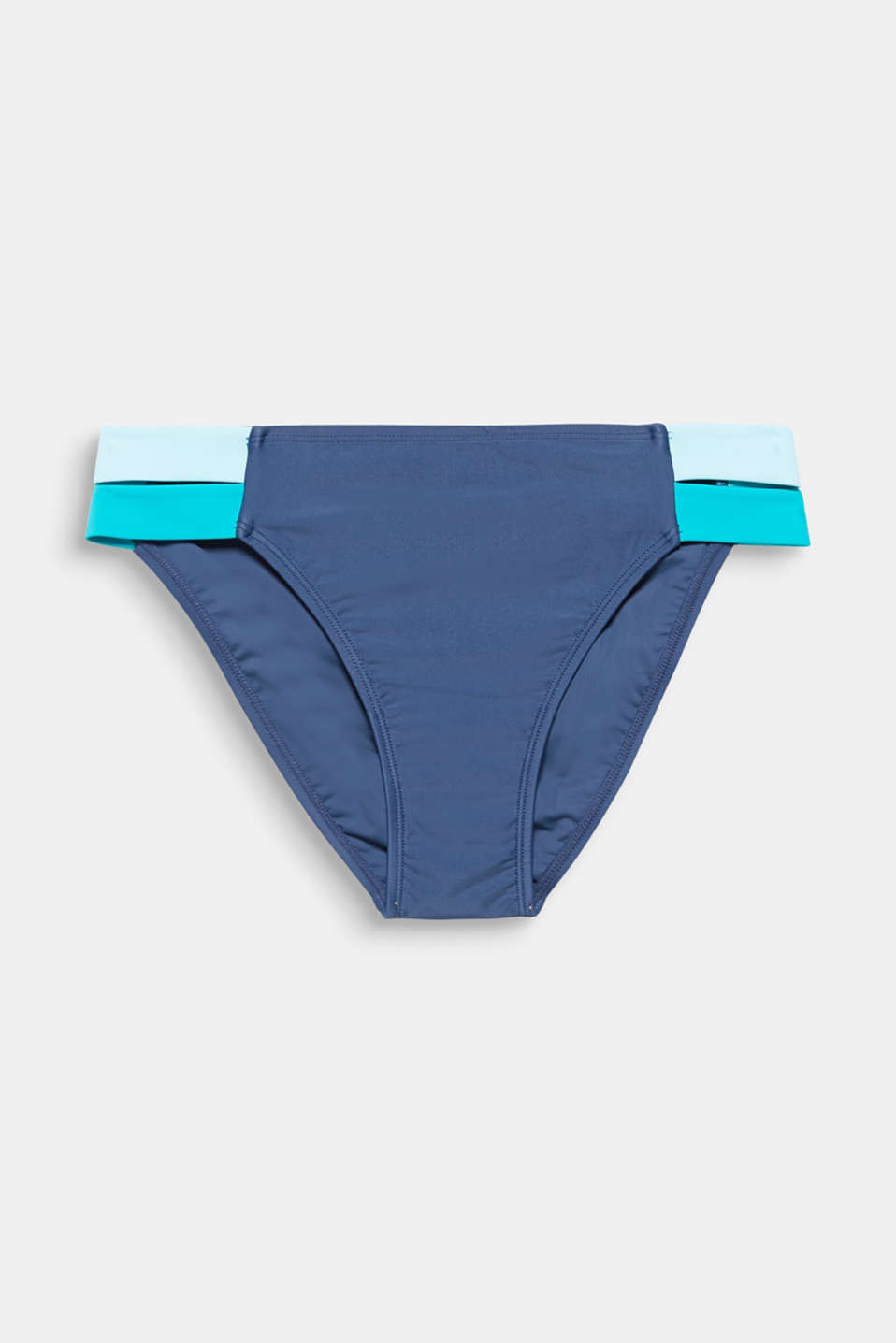 Briefs with contrasting colour sides, TURQUOISE, detail image number 3