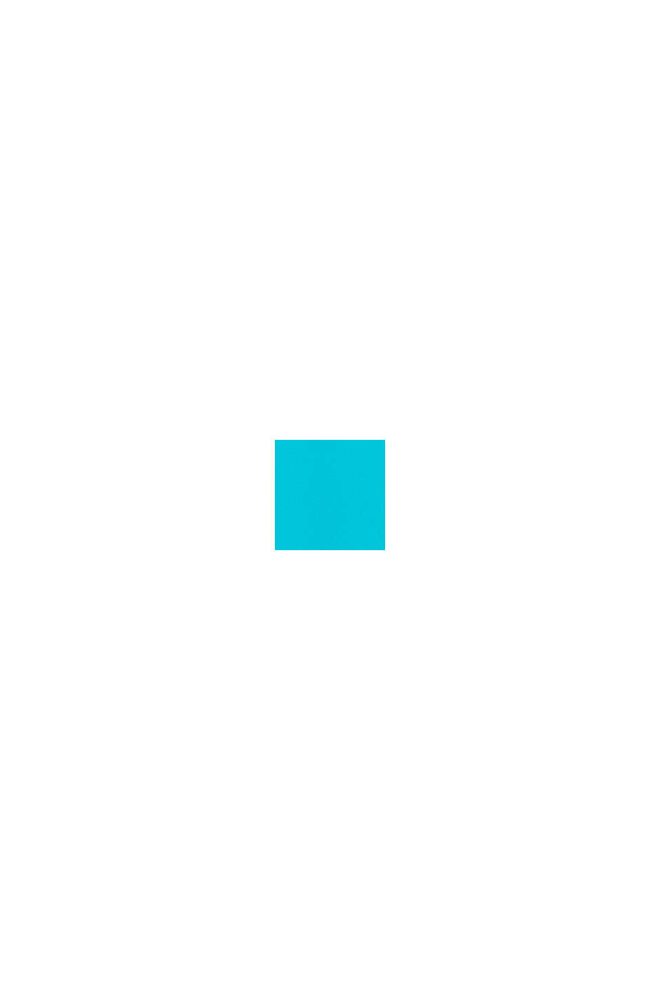 Plavky s barevnými bloky, TURQUOISE, swatch