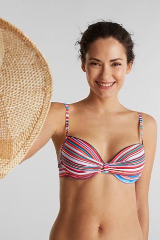 Padded push-up bikini top