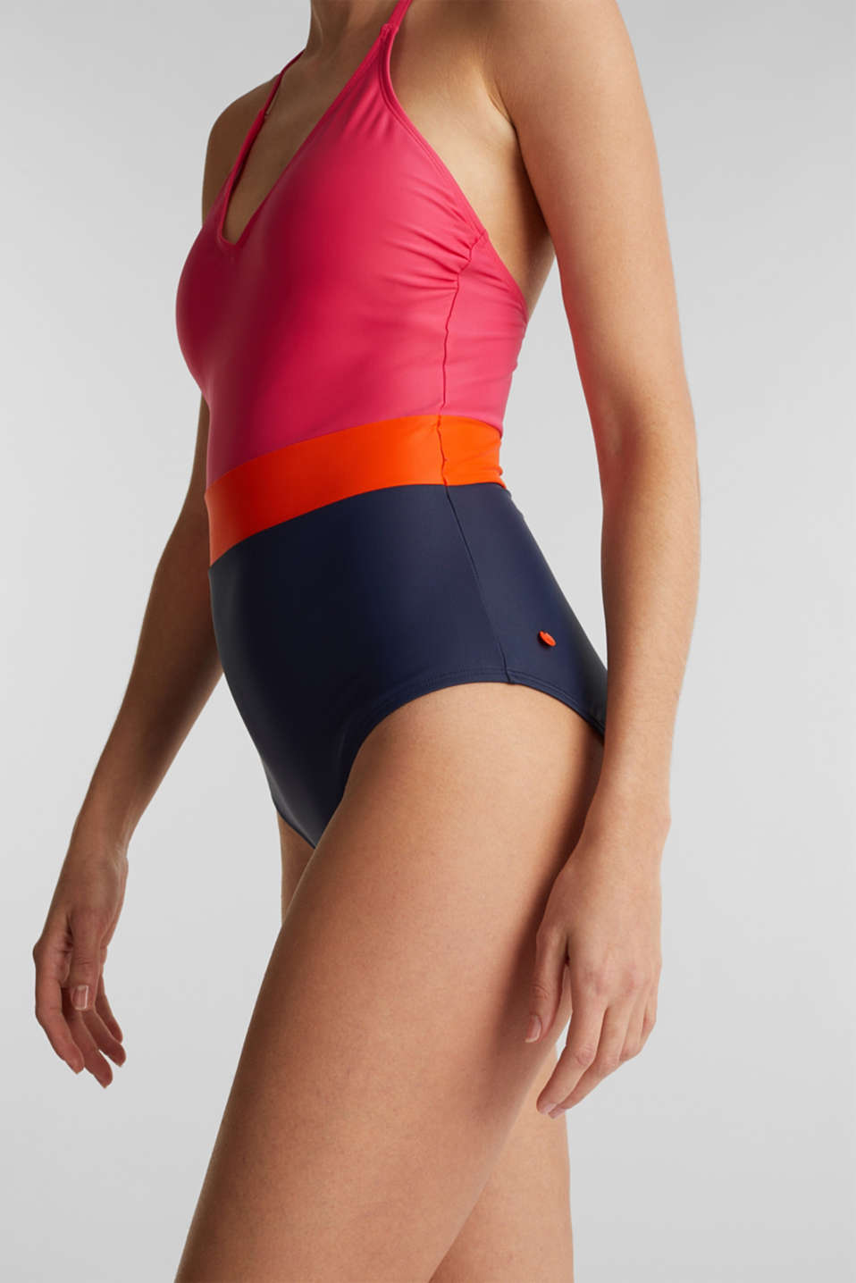 Swimsuit, BERRY RED, detail image number 2