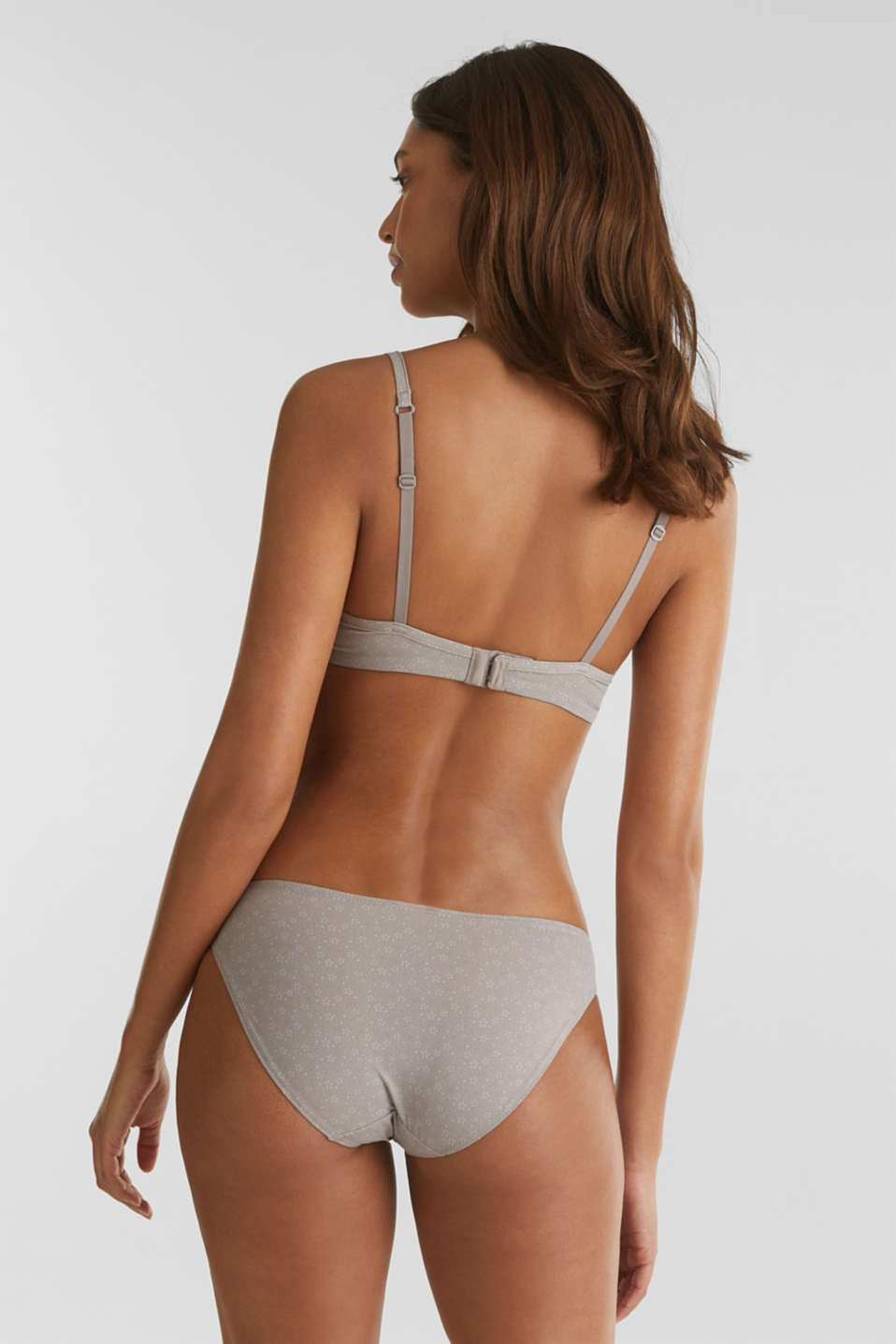 Double pack: Printed hipster briefs, TAUPE, detail image number 2