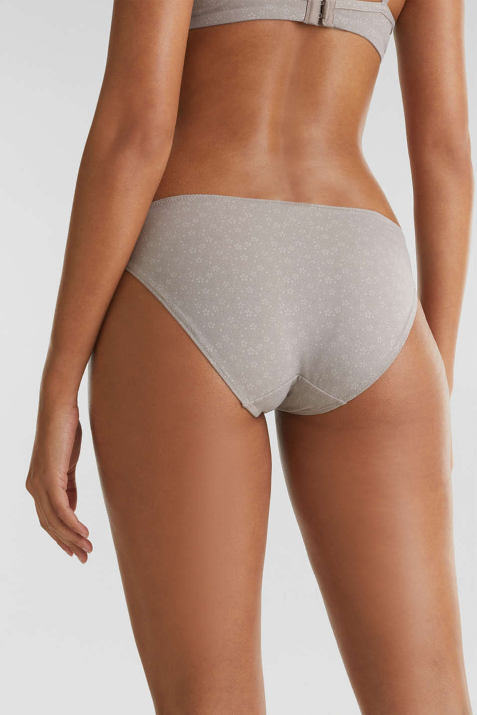 Double pack: Printed hipster briefs, TAUPE, detail image number 3