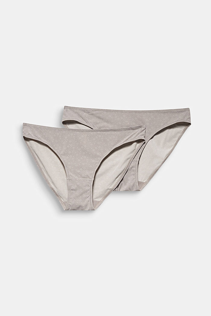 Double pack: Printed hipster briefs, TAUPE, detail image number 4