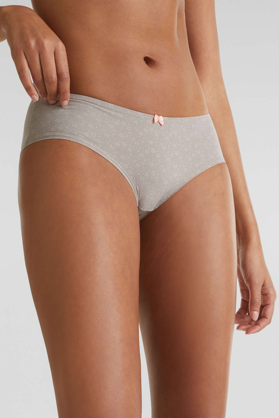 Hipster short with print, TAUPE, detail image number 1