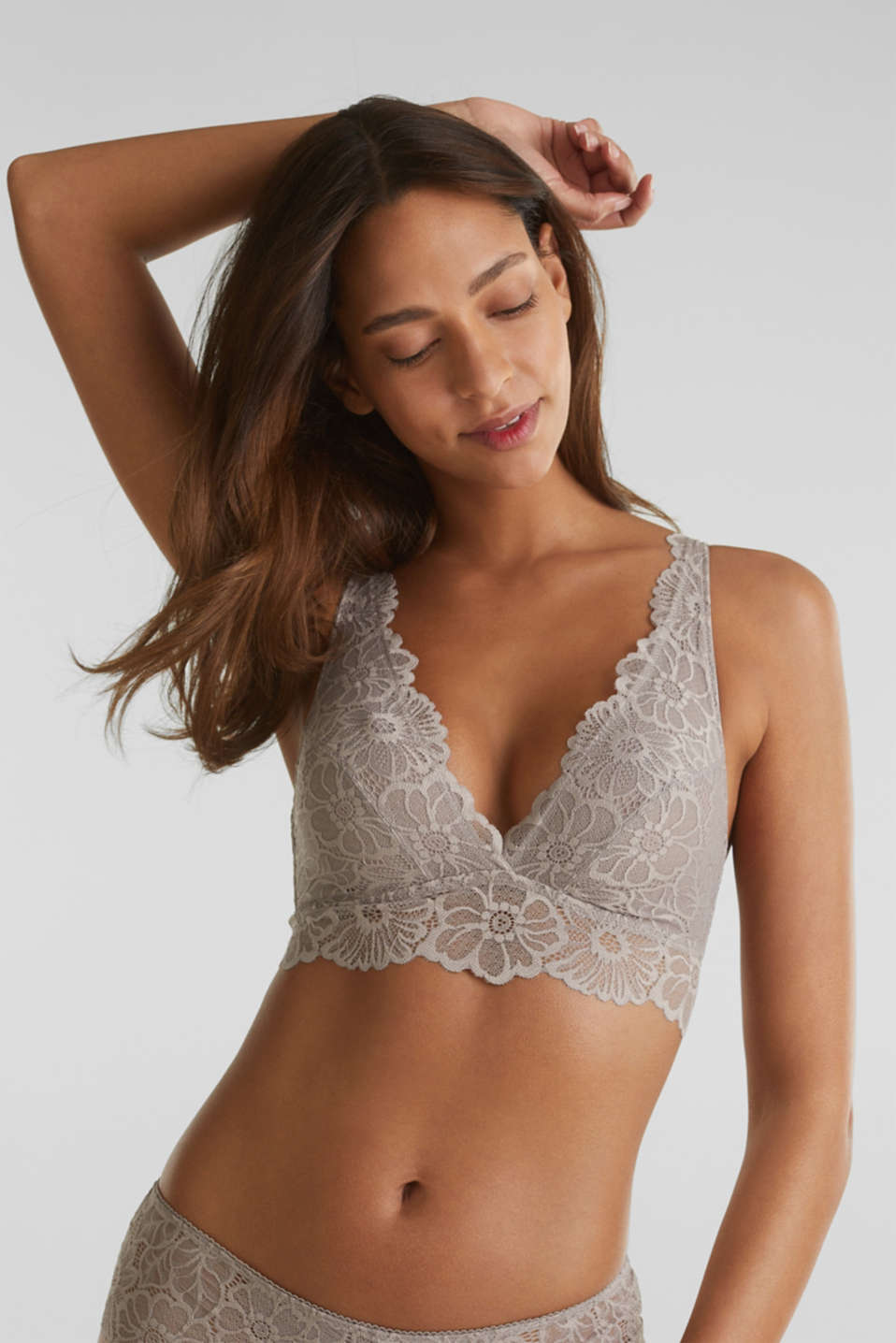 Esprit - Non-wired lace bralet