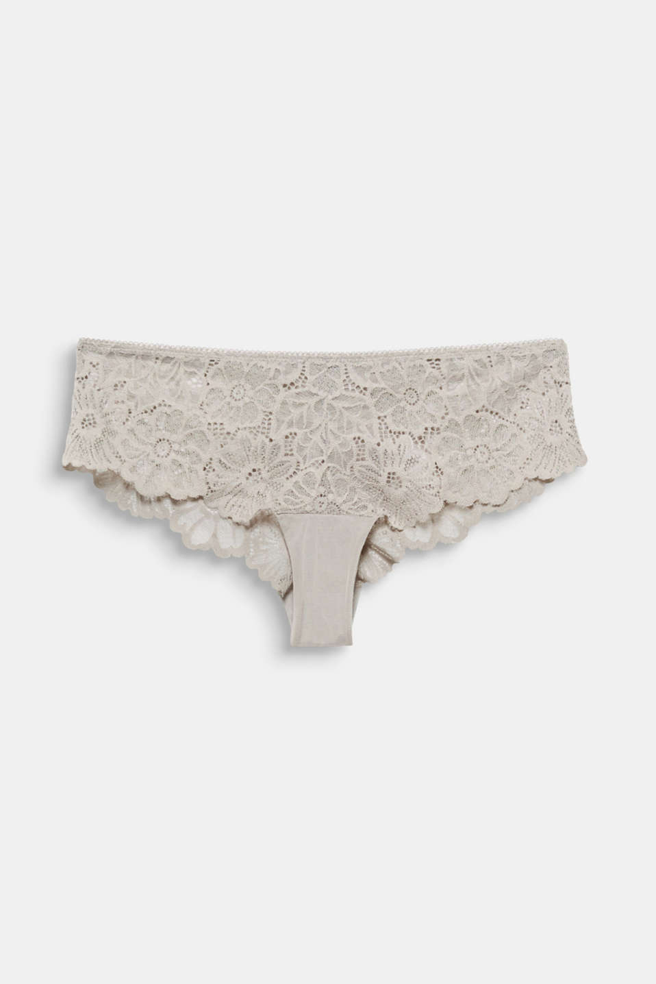Hipster briefs in lace, LIGHT TAUPE, detail image number 3