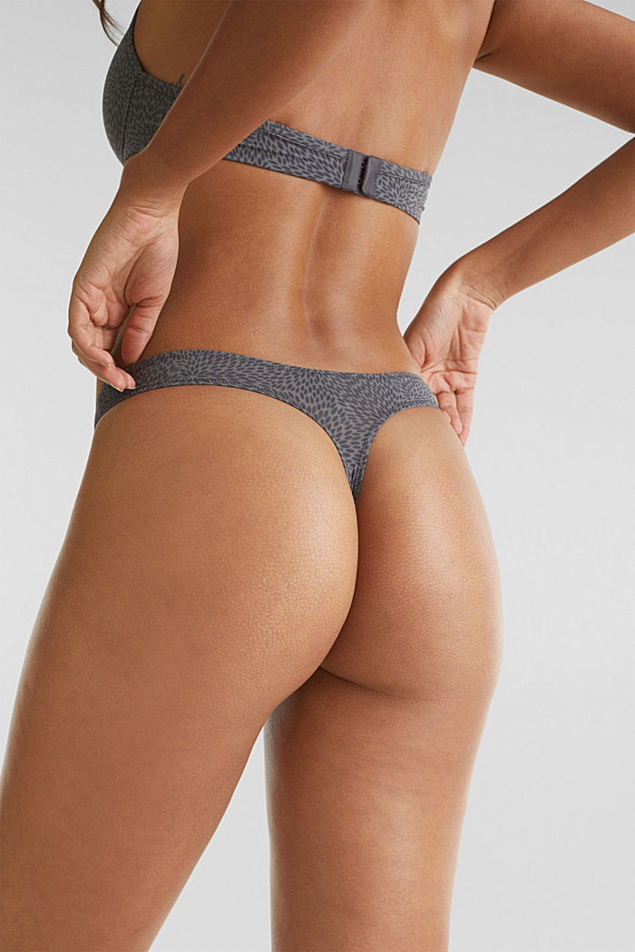 Hipster thong, ANTHRACITE, detail image number 1