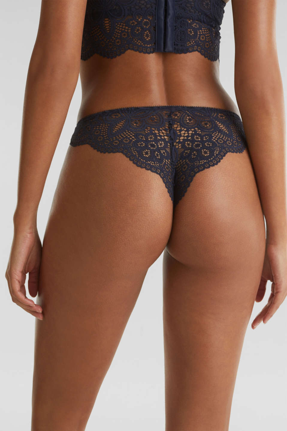 Hipster briefs in lace, NAVY 2, detail image number 3
